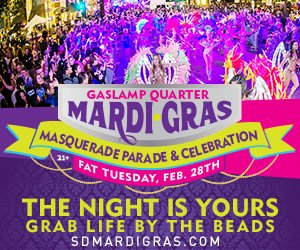 San Diego Mardi Gras, San Diego Events