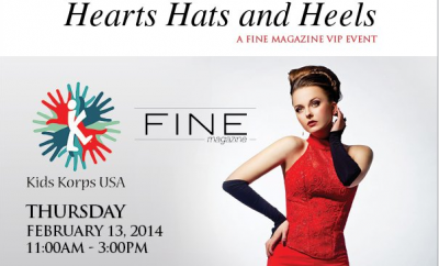 Hats Hearts and Heels , San Diego charity, philanthropy, lena evans, joani wafer, kids korps