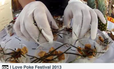 san diego food festival, I Love Poke Festival