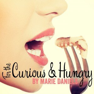 For the Curious and Hungry Podcast Art