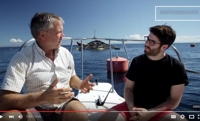 GEO DOME Fish Farming, a sustainable deep sea fish farming option